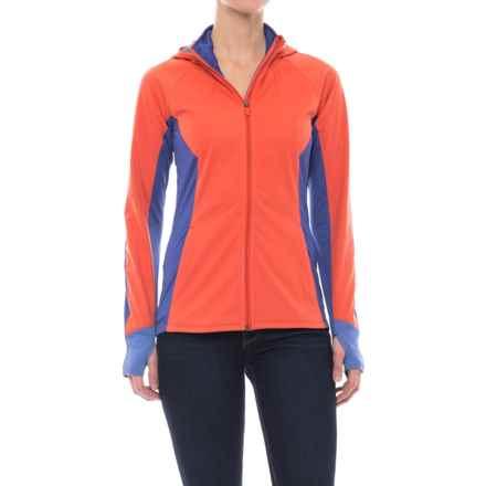Merrell Sportswear Merrell Capra Hybrid Windblocker 3L Jacket - UPF 30 (For Women) in Poppy - Closeouts