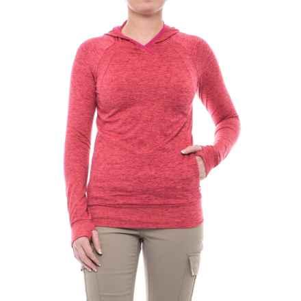 Merrell Sportswear Merrell Everlong Tech Fleece Hoodie (For Women) in Sangria Heather - Closeouts