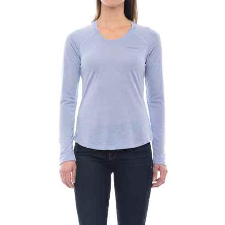 Merrell Sportswear Merrell Paradox Tech T-Shirt - Long Sleeve (For Women) in Aleutian Solid - Closeouts
