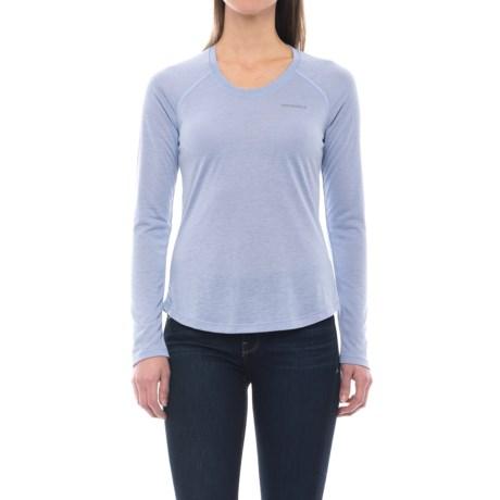 Merrell Sportswear Merrell Paradox Tech T-Shirt - Long Sleeve (For Women) in Aleutian Solid