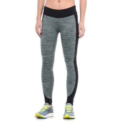 Merrell Sportswear Merrell Roam Wild Tech Leggings - UPF 50+ (For Women) in Black Melange - Closeouts