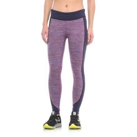 Merrell Sportswear Merrell Roam Wild Tech Leggings - UPF 50+ (For Women) in Poppy Melange - Closeouts