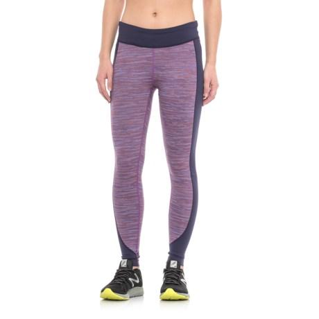 Merrell Sportswear Merrell Roam Wild Tech Leggings - UPF 50+ (For Women) in Poppy Melange