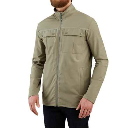Merrell Stapleton SE Travel Jacket - UPF 50+ (For Men) in Putty - Closeouts