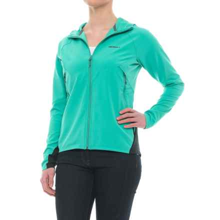 Merrell Stapleton Soft Shell Jacket - UPF 50+ (For Women) in Columbia - Closeouts