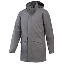 Merrell Stealth Trench Coat - Waterproof, Insulated (For Men) in Manganese - Closeouts