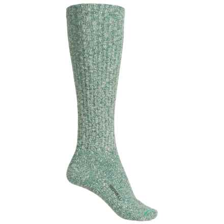Merrell Stowe Knee-High Socks - Over the Calf (For Women) in Mint Leaf - Closeouts