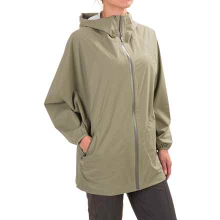 Merrell Sunstark Poncho Rain Jacket - Waterproof (For Women) in Putty - Closeouts
