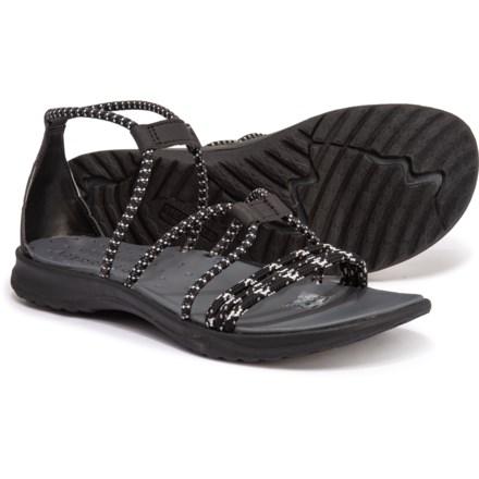 8264df9facef Merrell Sunstone Strappy Sandals (For Women) in Black
