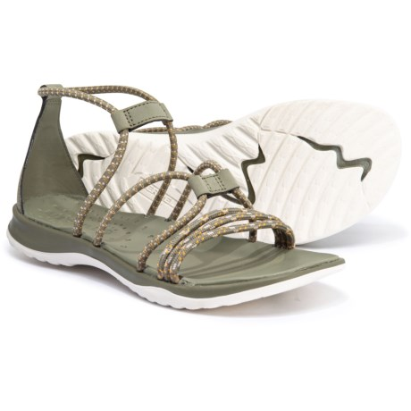 8ea0353ea5 Merrell Sunstone Strappy Sandals (For Women) in Vertiver