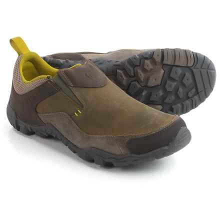 Merrell Telluride Moc Shoes - Slip-Ons (For Men) in Brindle - Closeouts