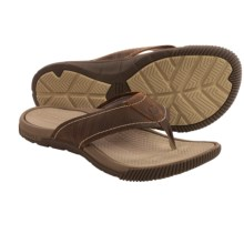 Merrell Terracove Jet Flip-Flops (For Men) in Oak - Closeouts