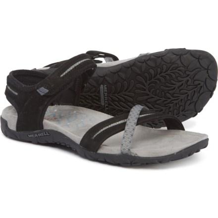 69cfcf1ded59 Merrell Terran Cross II Sport Sandals (For Women) in Black