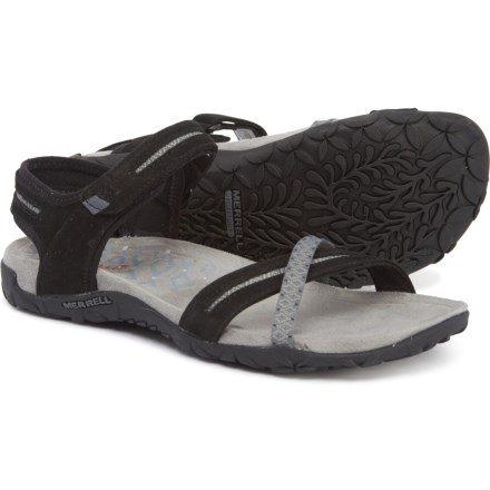 2eaeddabac86 Merrell Terran Cross II Sport Sandals (For Women) in Black