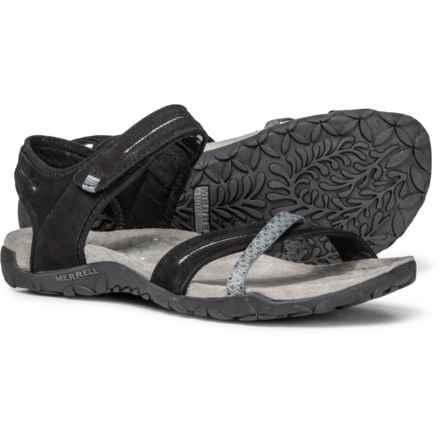 90eaf7765964 Merrell Terran Cross II Sport Sandals - Leather (For Women) in Black