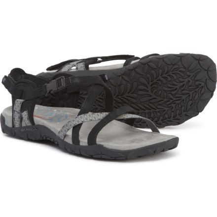 0625c0f976f1 Merrell Terran Lattice II Sandals (For Women) in Black