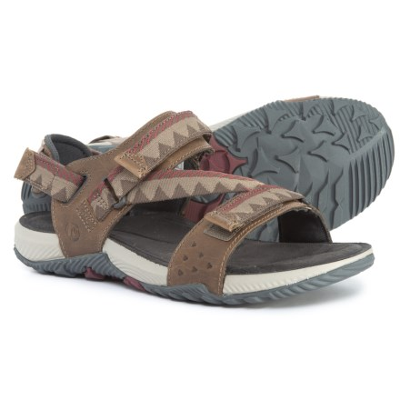 327acb12a Merrell Terrant Convertible Sport Sandals (For Men) in Brindle - Closeouts