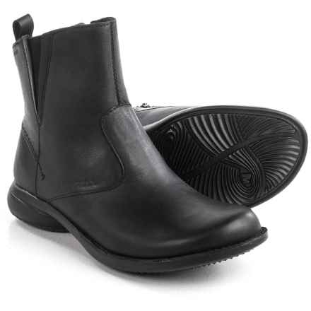 Merrell Tetra Catch Ankle Boots - Waterproof, Leather (For Women) in Black - Closeouts