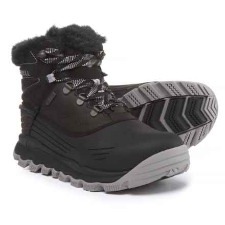 "Merrell Thermo Vortex 6"" Pac Boots - Waterproof, Insulated (For Women) in Black - Closeouts"