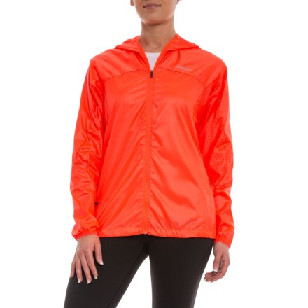 fd5d5a0a003e Merrell Torrent Windbreaker Jacket (For Women) in Fiery Coral - Closeouts