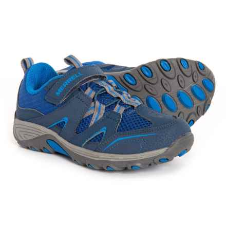 Merrell Trail Chaser Hiking Shoes (For Toddler and Little Boys) in Navy/Blue - Closeouts