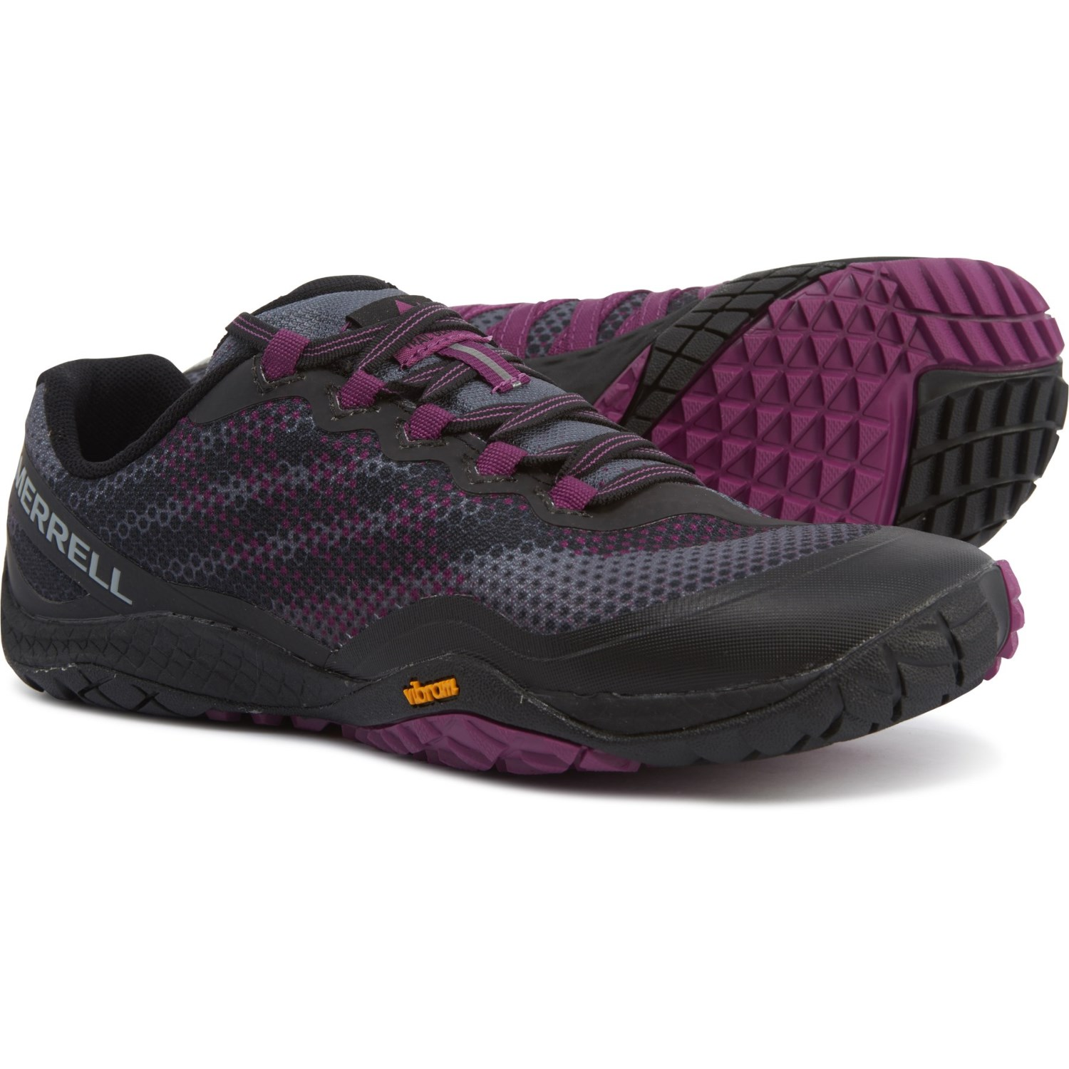 sale retailer 38aff 9c6d9 Merrell Trail Glove 4 Shield Running Shoes (For Women ...