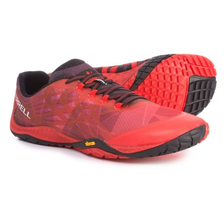 Merrell Trail Glove 4 Trail Running Shoes (For Men) in Molten Lava 3df243c6ae7