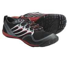 Merrell Trail Glove Barefoot Trail Running Shoes - Minimalist (For Men) in Black/Molton Lava - Closeouts