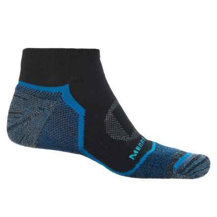 Merrell Trail Glove Low-Cut Socks - Below the Ankle (For Men) in Black - Closeouts