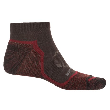 Merrell Trail Glove Low-Cut Socks - Below the Ankle (For Men) in Brown Heather