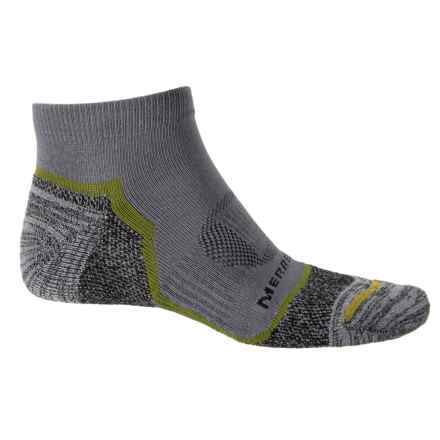 Merrell Trail Glove Low-Cut Socks - Below the Ankle (For Men) in Charcoal - Closeouts