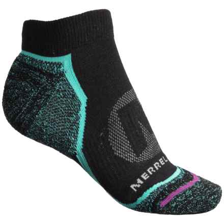 Merrell Trail Glove Low-Cut Socks - Below the Ankle (For Women) in Black - Closeouts