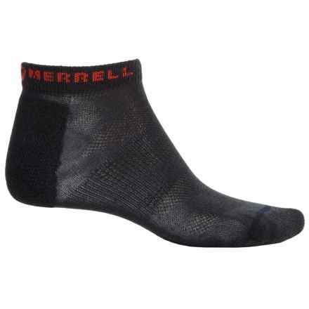 Merrell Trail Glove Socks - Below the Ankle (For Men) in Black - Closeouts
