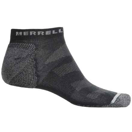 Merrell Trail Glove Socks - Below the Ankle (For Men) in Charcoal/Grey - Closeouts