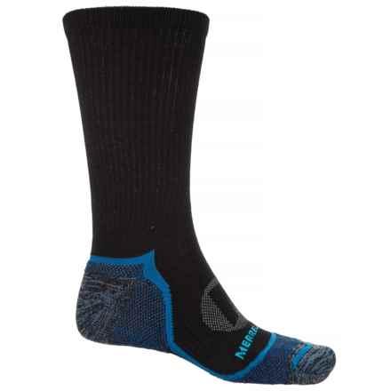 Merrell Trail Glove Socks - Crew (For Men) in Black - Closeouts