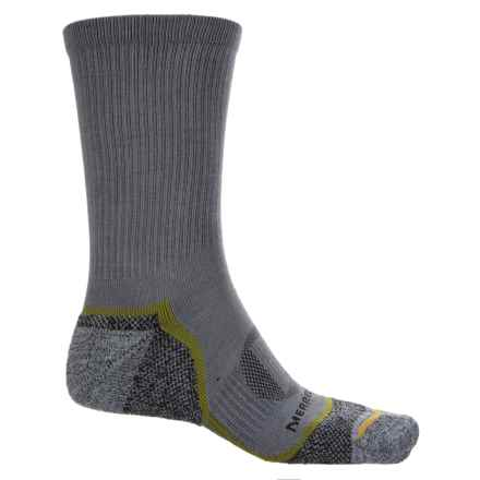 Merrell Trail Glove Socks - Crew (For Men) in Charcoal - Closeouts