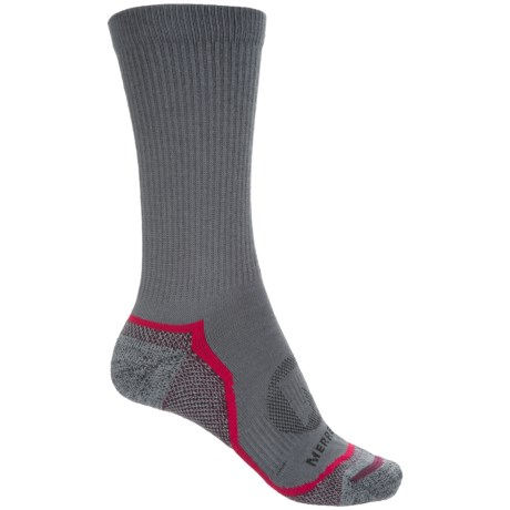 Merrell Trail Glove Socks - Crew (For Women) in Charcoal