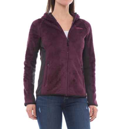 Merrell Trailhead Hooded Polartec® Fleece Jacket - Full Zip (For Women) in Prune Purple - Closeouts
