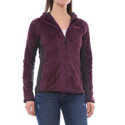Merrell Trailhead Hooded Polartec® Fleece Jacket - Full Zip (For Women) in Prune Purple - Closeouts