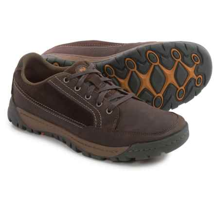 Merrell Traveler Sphere Shoes - Leather (For Men) in Espresso - Closeouts