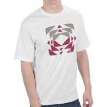 Merrell Tunnel T-Shirt - Short Sleeve (For Men) in White - Closeouts