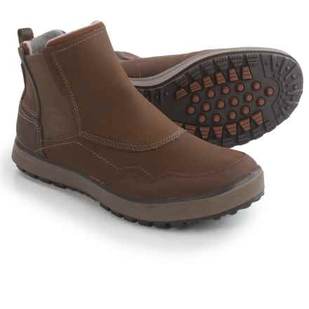 Merrell Turku Chelsea Boots - Waterproof, Insulated (For Men) in Potting Soil - Closeouts