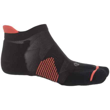 Merrell Ultralight Runner Heel Tab Socks - Ankle (For Men) in Black - Closeouts