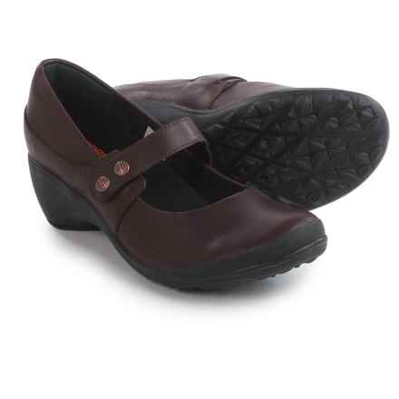 Merrell Veranda Emme Mary Jane Shoes (For Women) in Burgundy - Closeouts