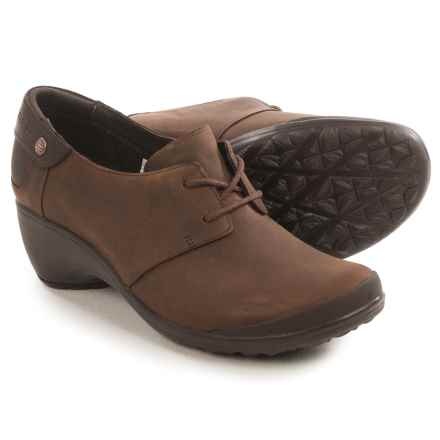 Merrell Veranda Tie Shoes - Leather (For Women) in Butter Rum - Closeouts