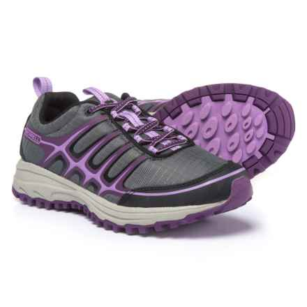 Merrell Versatrail Trail Running Shoes (For Women) in Black/Regal Orchid - Closeouts