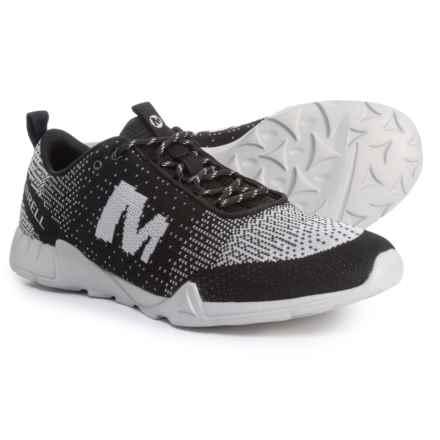 Merrell Versent Kavari Knit Sneakers (For Men) in Black/White - Closeouts