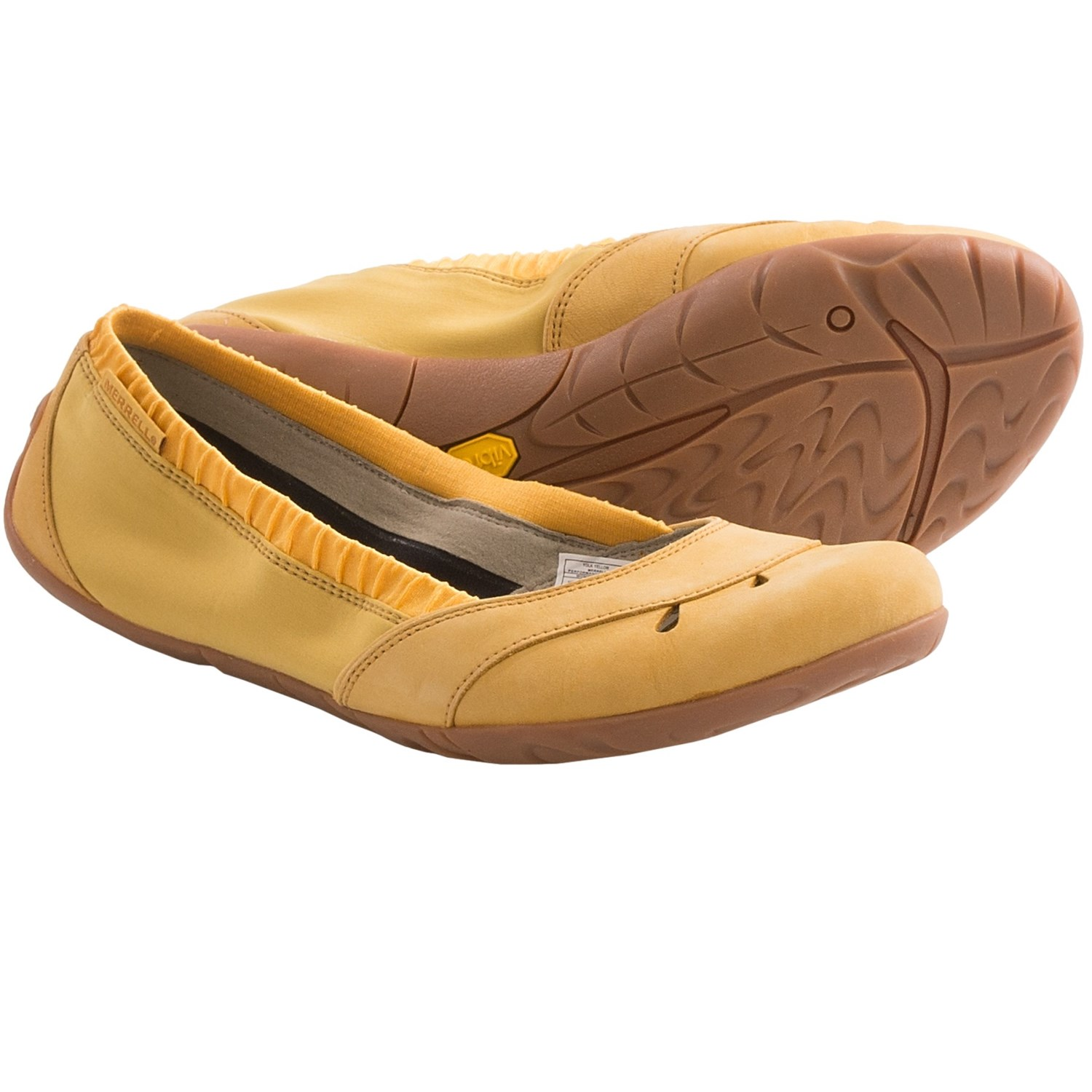 Merrell Whirl Glove Slip-On Shoes (For Women) in Yolk Yellow