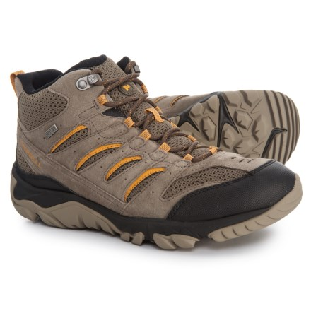 a716bc533c Merrell White Pine Mid Ventilator Hiking Boots - Waterproof (For Men) in  Boulder -