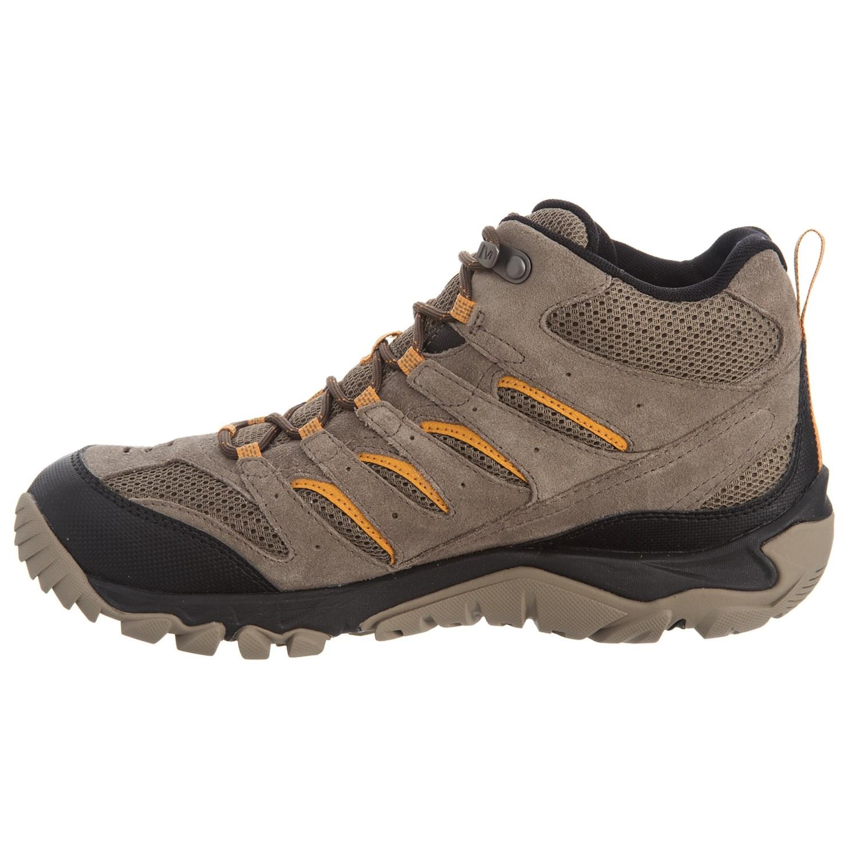 afc8e9f374bc Merrell White Pine Mid Ventilator Hiking Boots For Men Save 45